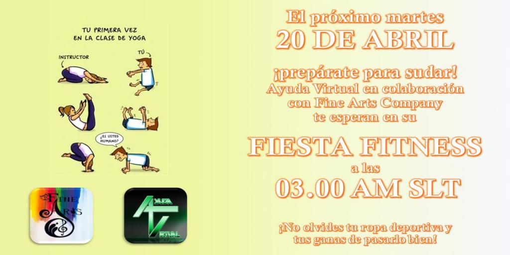 Fiesta Fitness en el Club de Ayuda Virtual