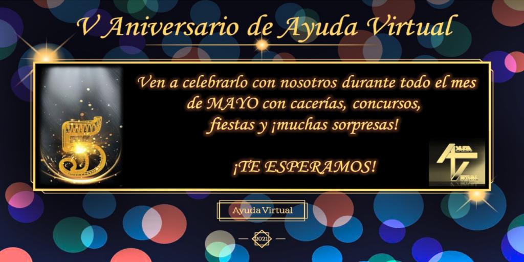 V Aniversario de Ayuda Virtual