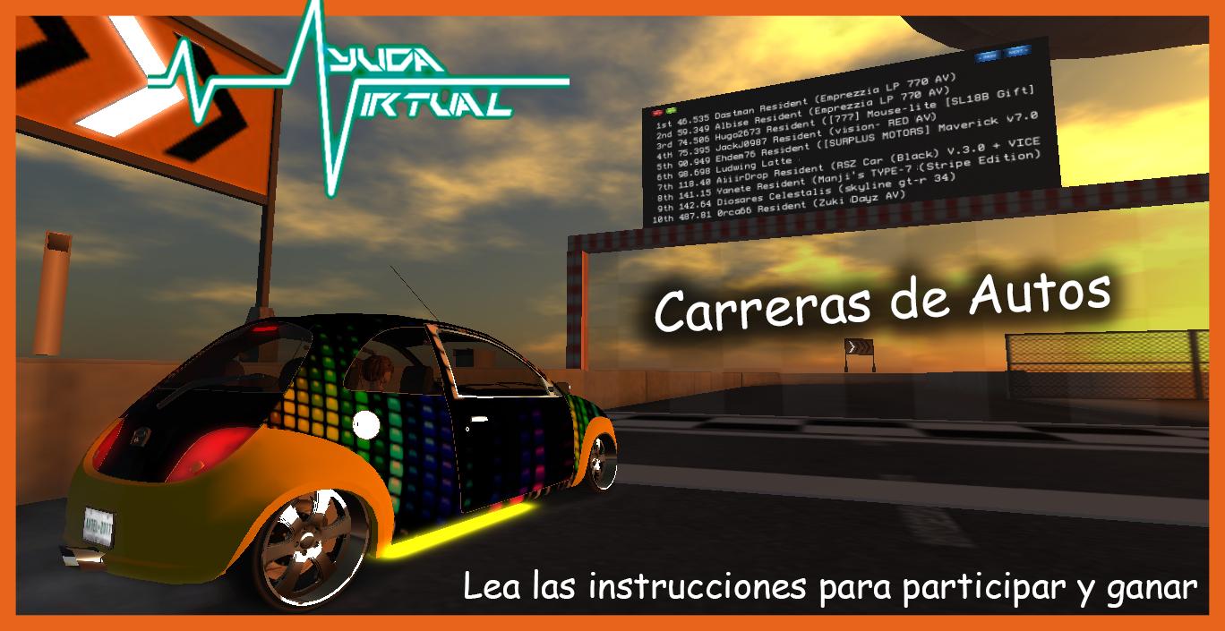 Carrera de Autos en Ayuda Virtual
